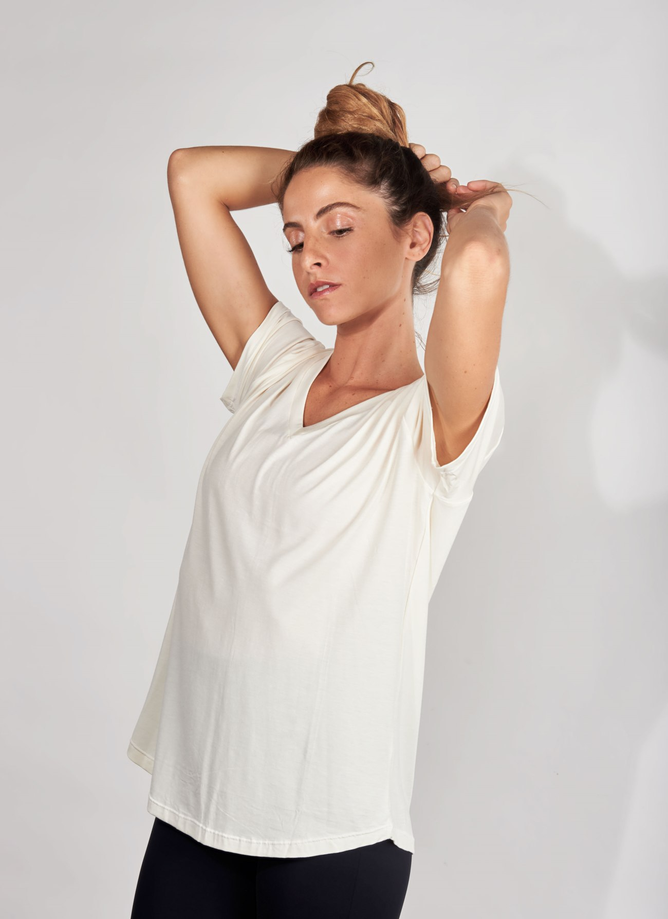 T-shirt – Feather - Cream